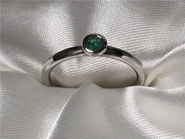 Emerald Ring by Ostbye