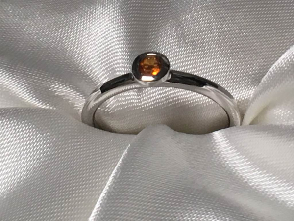 Citrine Ring by Ostbye