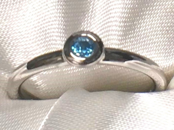 Blue Topaz Ring by Ostbye