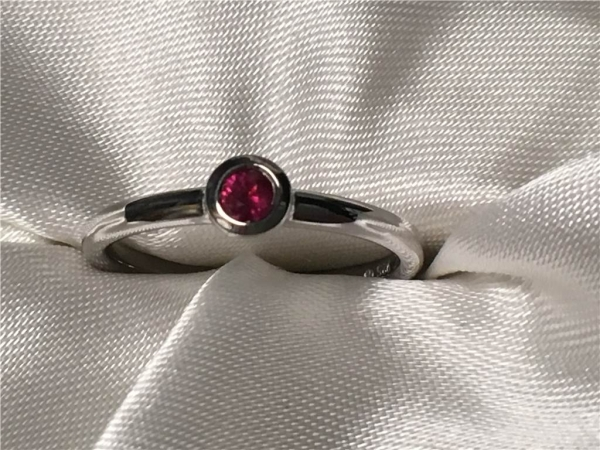 Ruby Ring by Ostbye