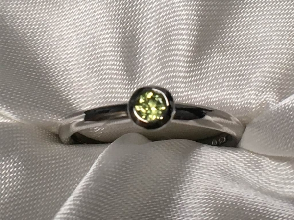 Peridot Ring by Ostbye